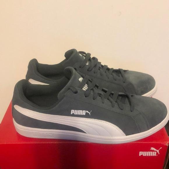 100% authentic 7a70e fda23 Puma smash suede leather sneakers NWT